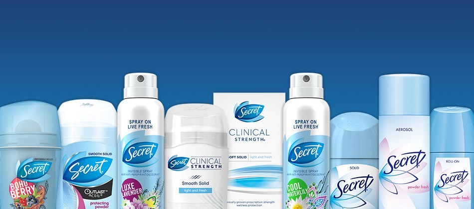 Best Secret Deodorants of 2019 - Reviews