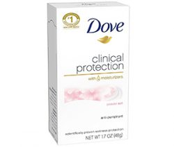dove clinical protection with moisturizers