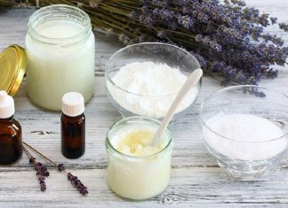 homemade deodorant recipe